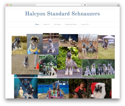 Free WordPress Genesis Responsive Slider plugin - halcyonschnauzers.com
