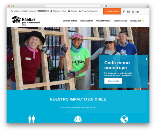Template WordPress Charity WPL - hphchile.cl