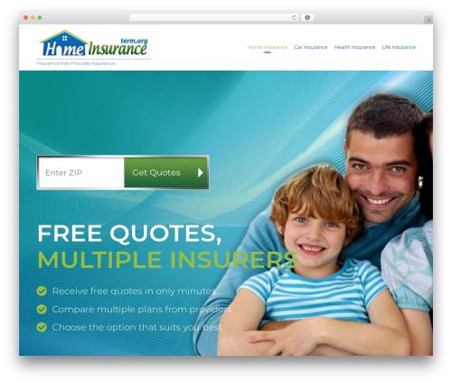 Template WordPress (VamTam) Consulting - homeinsurance.term.org