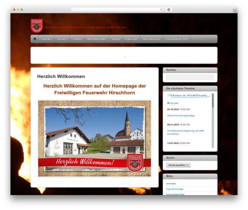 Themify iTheme2 best WordPress template - hirschhorn.info
