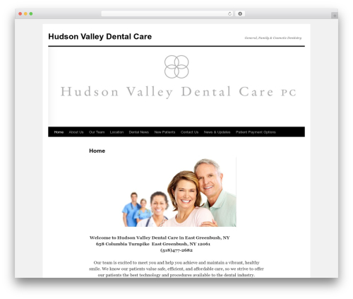 Twenty Ten theme WordPress free - hvdental.com