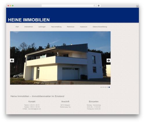 WordPress template RealEstater - heine-immobilien.net/wp