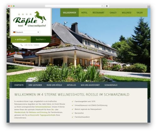 Free WordPress Google Analytics Opt-Out plugin - hotel-roessle.de