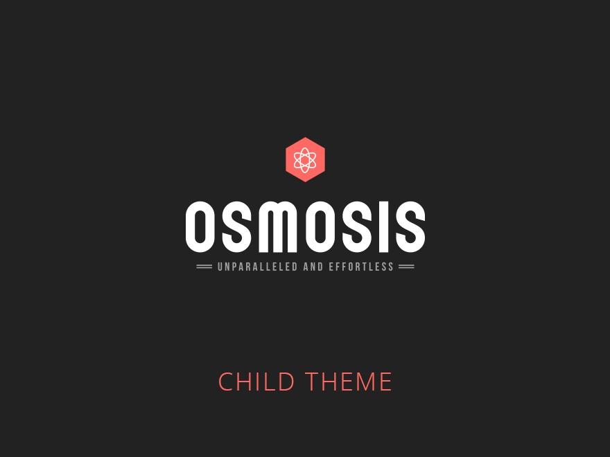 WordPress website template Osmosis hrfiala