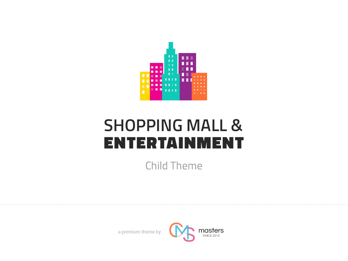 WP theme Mall Child