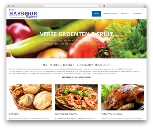 () Bouncy WordPress theme - harbourmarket.eu