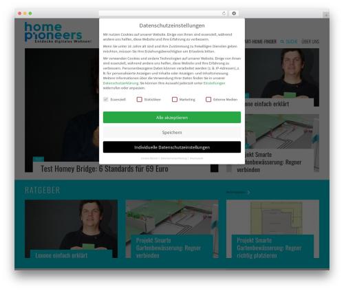 WordPress wp-review-pro plugin - homepioneers.de