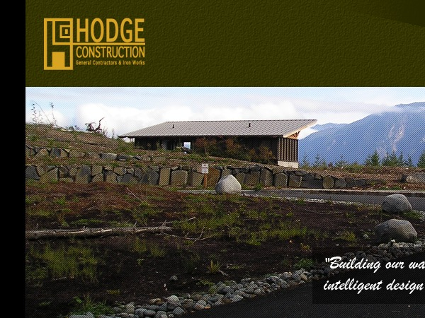 Hodge Construction Inc WordPress page template