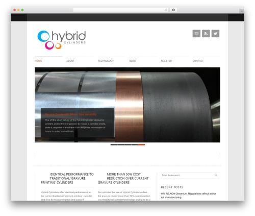Klasik WP theme - hybridcylinders.com