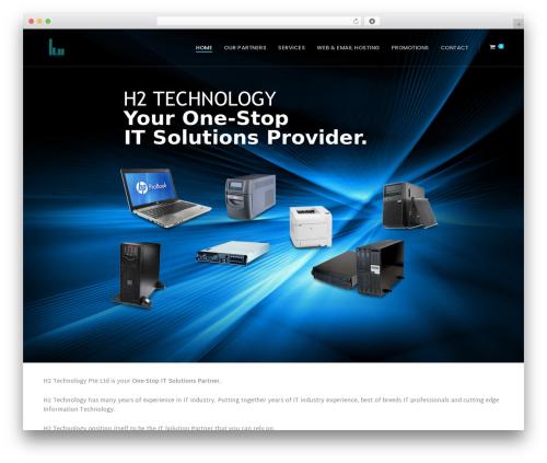 Quark Progression WordPress theme - h2-technology.com