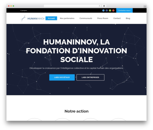 Theme WordPress Startit - humaninnov.com