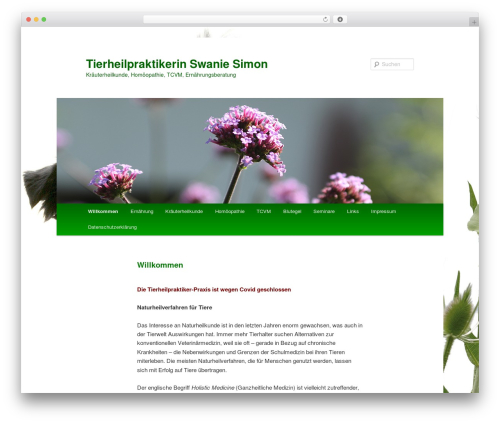 Free WordPress Plugin: Kontakt plugin - hundeheilpraktik.de