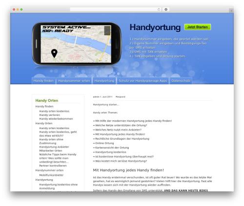 Best WordPress theme iPhone App by Templatic - latest
