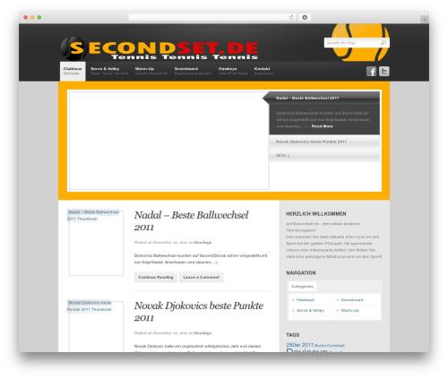 Revolution WordPress blog theme - handtaschenlicht.net