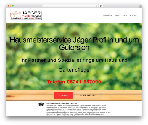 Free WordPress Sydney Toolbox plugin - hausmeisterservice-jaeger.de