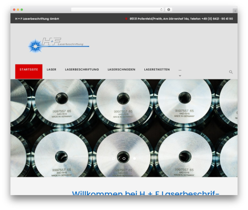 WordPress theme Machinist - h-f-laserbeschriftung.de