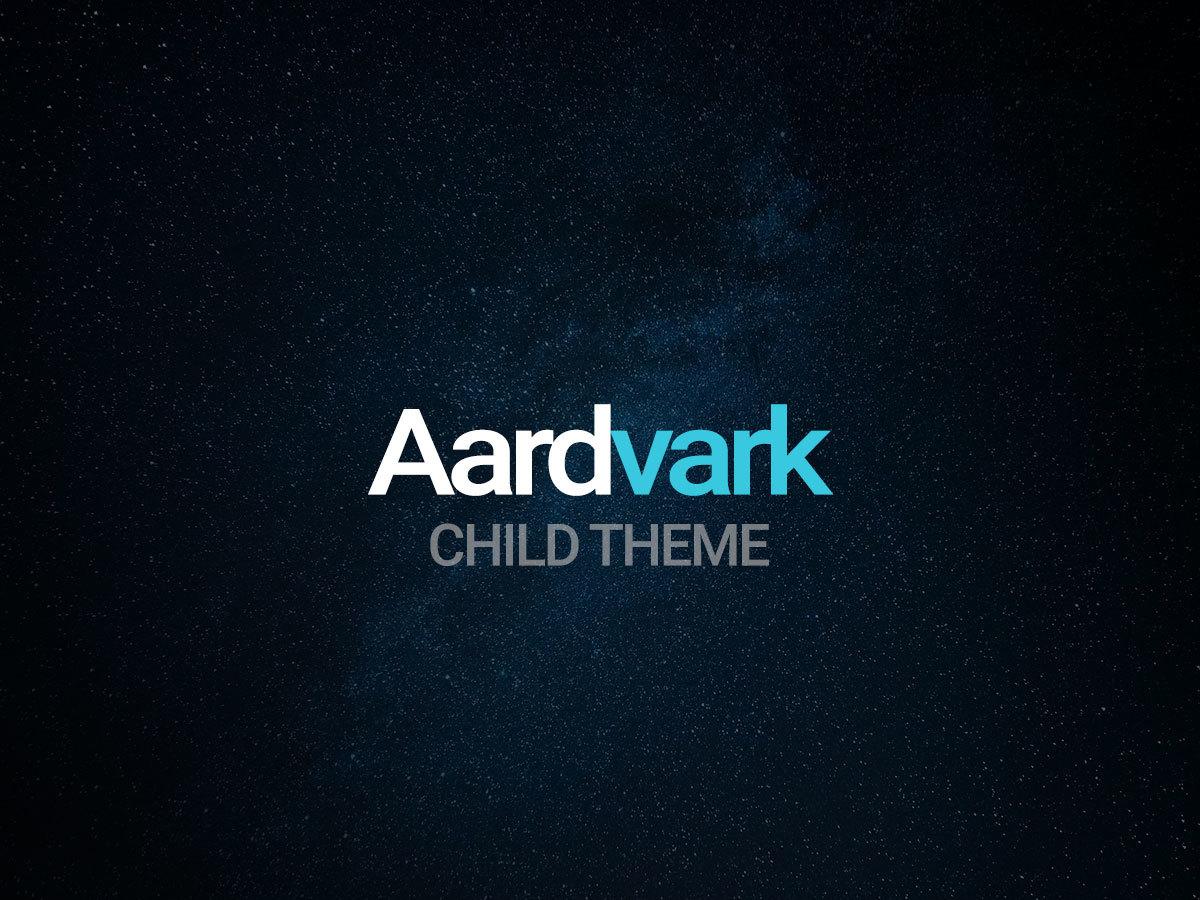 WP template Aardvark Child