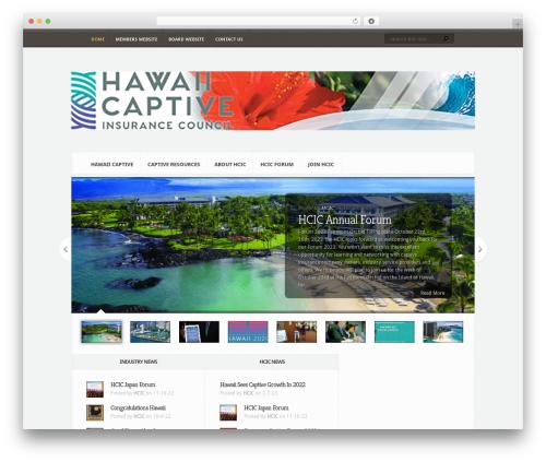 Aggregate WordPress theme - hawaiicaptives.com