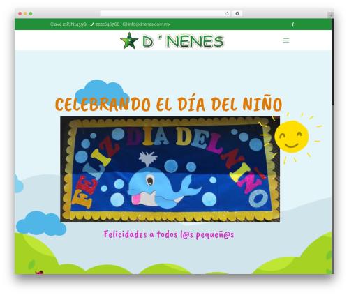 Betheme WordPress video theme - dnenes.com.mx