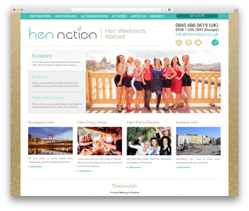 WordPress wordpress-form-manager plugin - hennation.co.uk