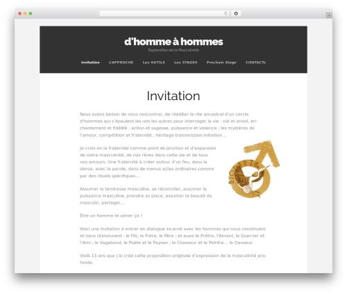 Free WordPress Custom Banners plugin - homme-a-hommes.com