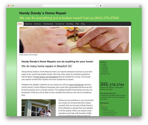 Optima premium WordPress theme - handydandyhr.com
