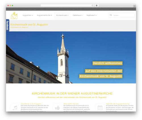 sugar WordPress page template - hochamt.augustiner.at