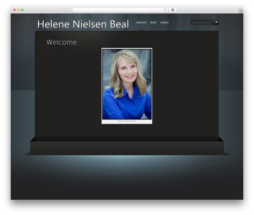 WordPress website template 13floor - helenebeal.com