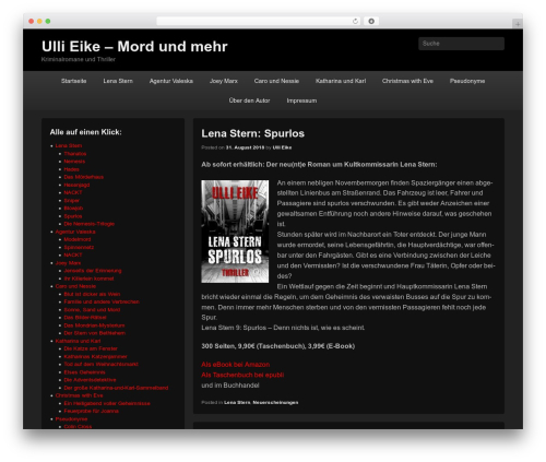 WordPress website template Catch Flames - hypewriter.de