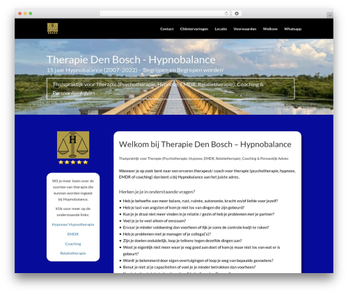 Divi WordPress theme - hypnobalance.nl