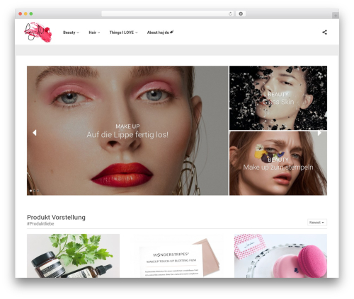 Particle by Bluthemes WordPress theme - haj-du.com