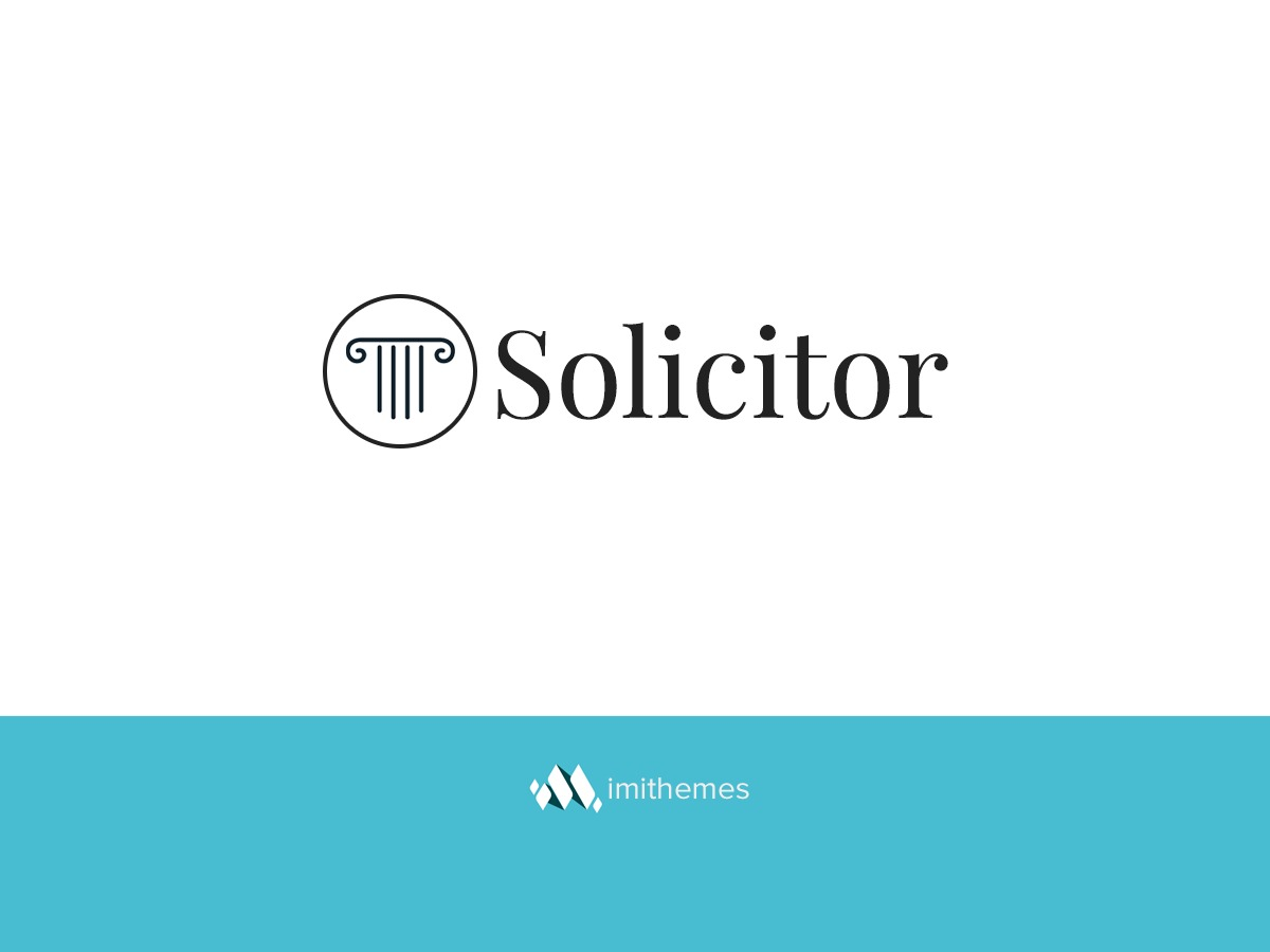 Solicitor WordPress template for business
