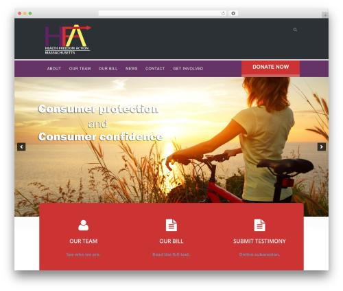 WordPress rescue-portfolio-master plugin - hfama.org