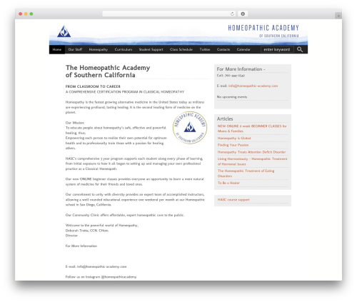 WP template Ashford - homeopathic-academy.net
