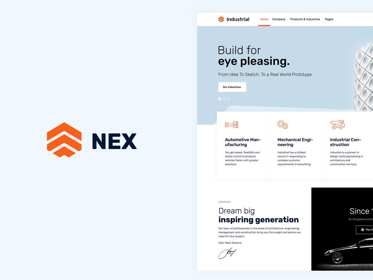 Nex WordPress theme