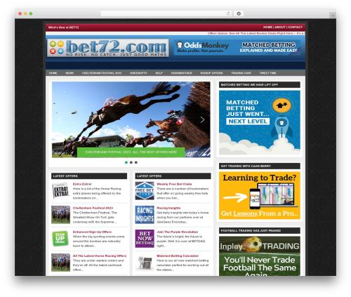 Revolution Church top WordPress theme - bet72.com