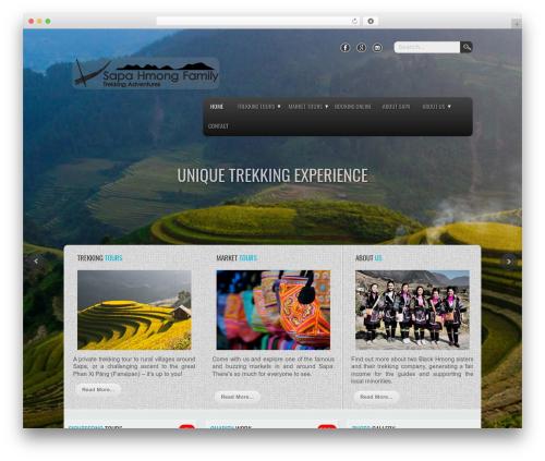 WP theme Travel Extend - hmong-family.com