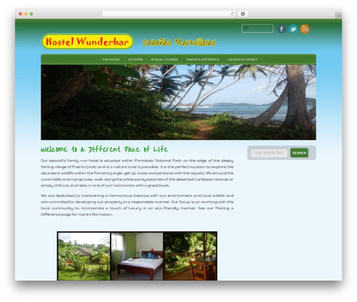 D5 Socialia template WordPress free - hostelwunderbar.com