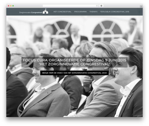 Elite WordPress website template - hetcongrestival.nl