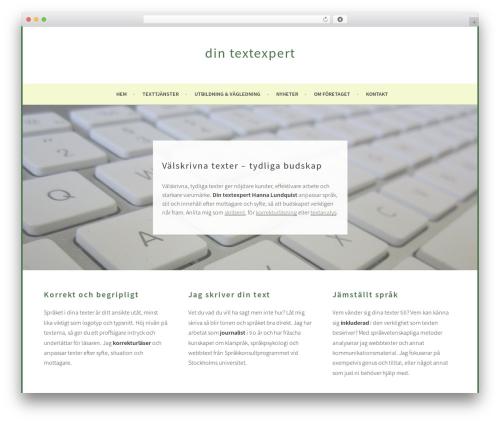 Sela best WordPress template - hannalundquist.se