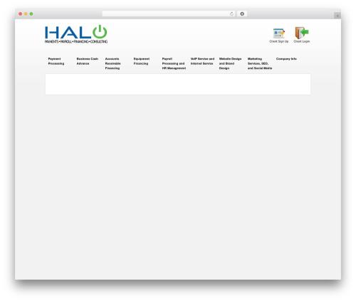 Theme WordPress kameleon - halosmallbusinesssolutions.com