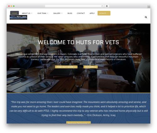 WordPress theme JV Allinone - hutsforvets.org