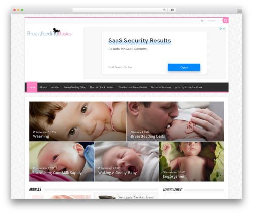WP theme Sahifa - breastfeedingbasics.com
