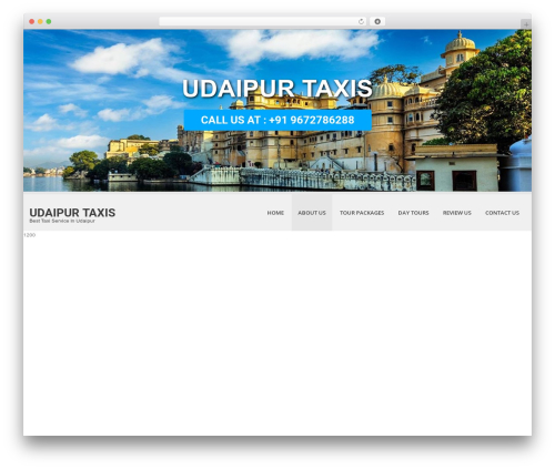 Best WordPress template SKT White - udaipurtaxis.com
