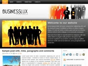 BusinessLux business WordPress theme