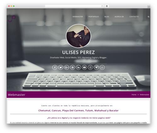 Free WordPress Instagram Slider Widget plugin - ulisesperez.com