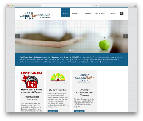 Inceptio WP theme - uclc.ca