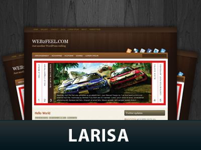Larisa WordPress theme