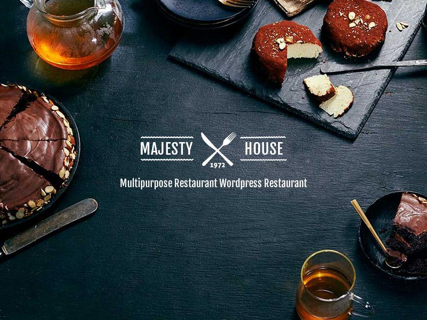 Majesty WordPress website template