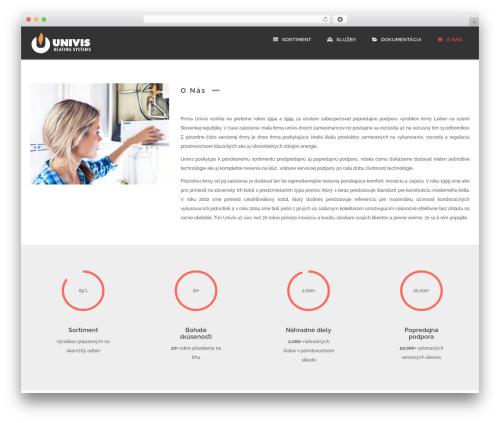 MONTANA premium WordPress theme - univis.sk